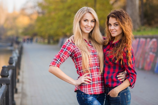 Young Russian girls